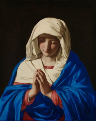 Virgin Mary at Prayer